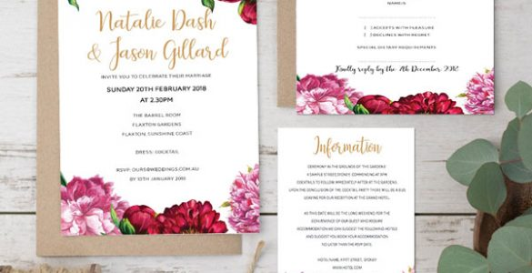 Peony-Dream-wedding-invitation-package