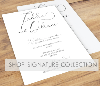 Signature Wedding Invitation Collection