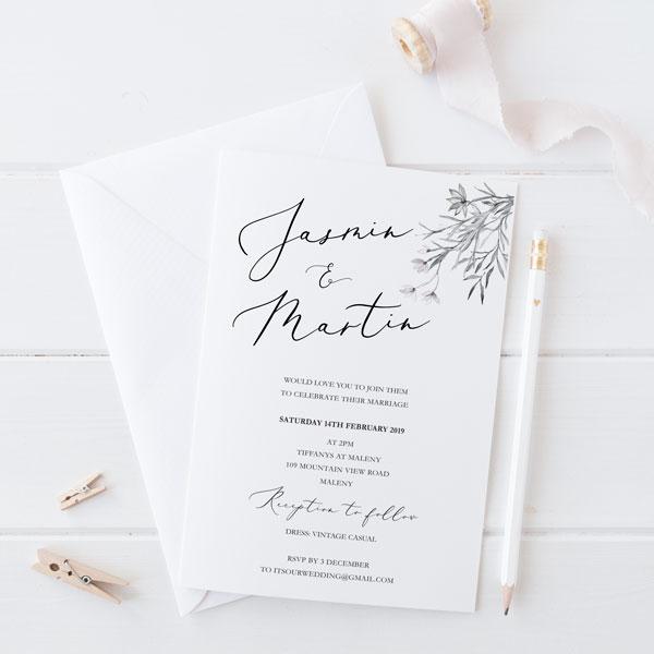 Online Wedding Invitations Website: Whimsical Wedding Invitation, Order Online, Wedding