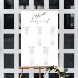 Wedding Table Seating Chart.Wedding Seating Charts Table Seating Plan For Weddings Acrylic